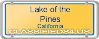 Lake of the Pines board